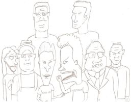 The voices of Mike Judge by JimmyTwoTimes2K9