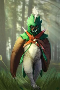 Decidueye by moniterman