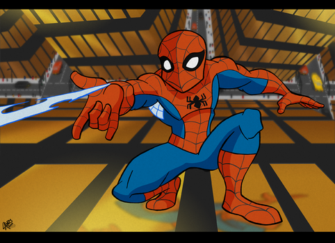 Spectacular Spider-Man by AngelCrusher