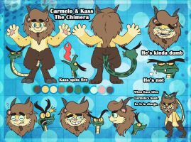 Carmelo Reference Sheet by JulieKarbon