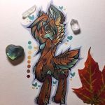 November the timber wolf~  by MoonlightMalaise