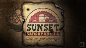 Sunset Sarsaparilla by keenakorn