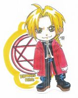 Edward Elric Chibi by kwessels