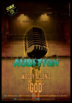 audition poster by sahayakill