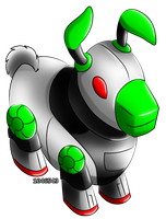 Neopets - Robot Gnorbu by 1046543