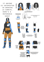 Reference Sheet for La Cometa by White-Rose-Brian