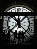 Paris Time II - Silhouettes by Ar-Zimraphel