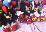 Shadow Plushie Army by oXFrostXo