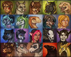 Icons 04 by Shadow-Wolf