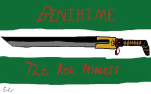 Benihime: The red princess by badartist77
