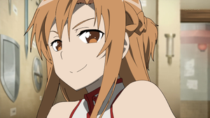 sword art online 8 Asuna Color by codzocker00