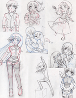 2013 Sketchs by Kari-Usagi