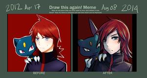 Meme  Before And After by kurokitsune777