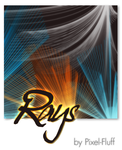 Rays - PS Brush Set by pixel-fluff