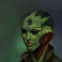 Mass Effect 2: Thane Krios by ComradeBitter