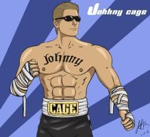 Johnny Cage by redfield37