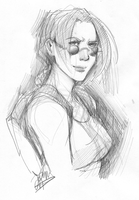 con sketches - lara croft by thanoodles