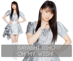 Sayashi Riho - Oh my wish! PNG Render Set by Supadackles