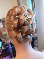wedding hair by whiteazalea