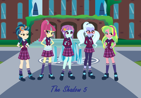 The Shadow 5 by Obeliskgirljohanny