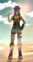 Redesign SteamPunk Lucca ~ Chrono Trigger by YarickArt