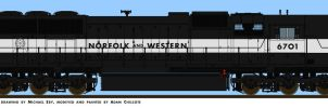 N and W SD70 by simulatortrain