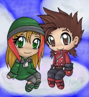 Hinai and Lloyd by ASB-Fan