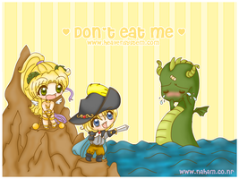 Don't eat me by MagicalBunnies
