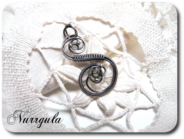 Silver ABC - personalized necklaces. S. by nurrgula
