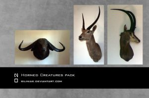 Horned Animals Pack by silinias