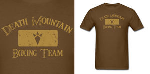LOZ Death Mountain Boxing Team by Enlightenup23