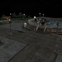 [Silent Hill 3] Theme park from intro by shprops4xnalara