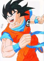 Goku by MikeES