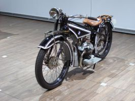 Vintage BMW Motorcycle by Jetster1