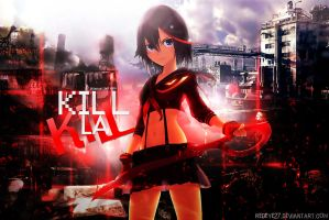 Kill La Kill Wallpaper by Redeye27