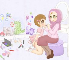 Make-Up Mess by Pastel-Hime by Jonesey0084