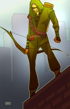 Green Arrow by johnnymorbius