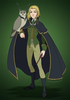 Draco 'Father will hear about this' Malfoy by HollyBell