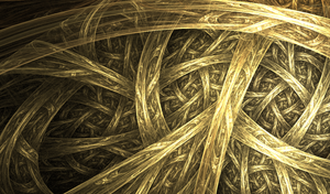Woven In Gold by FractalEuphoria