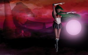 Sailor Pluto - Wallpaper pack by DianaHold