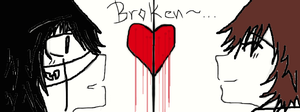 Broken Heart..is all I have and a sweet smile of u by ToshiroLovesYou