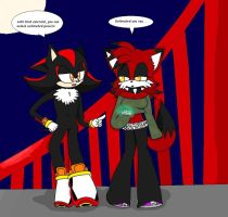 Shadow x Emo :contest: by emo2the3fox
