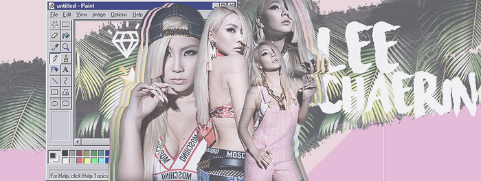 Lee Chaerin FB banner by 17studio