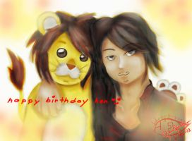 Happy Birthday Ken (Thursday - Yellow) by hinata-kenshin