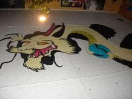 dragon coming out of my ceilin by cheshire-cat-19