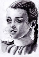 Arya Stark the 1st season by WhitePower188