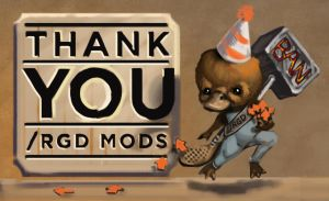 RGD - A thank you to the mods of rgd by cluis