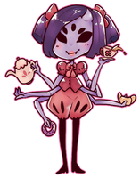 Undertale Muffet by PaperCactus