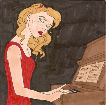 Piano Cover Art by HappyCat13