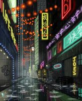 City Alley by Kevin-Studios